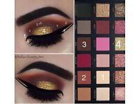 New huda beauty rose gold edition textured eye shadow 18 colour SALE