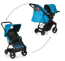 New Icoo Acrobat Pushchair & Car seat Travel System - RRP £699