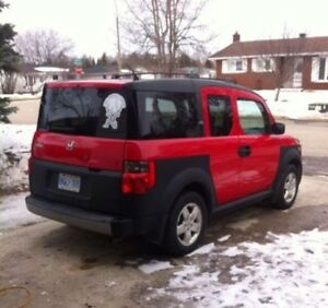 2005 Honda Element awd manual