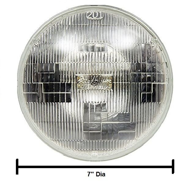 Air-Cooled VW Bug/Bus/Type 3/ Thing 12 Volt Halogen Sealed Beam Headlight Bulb