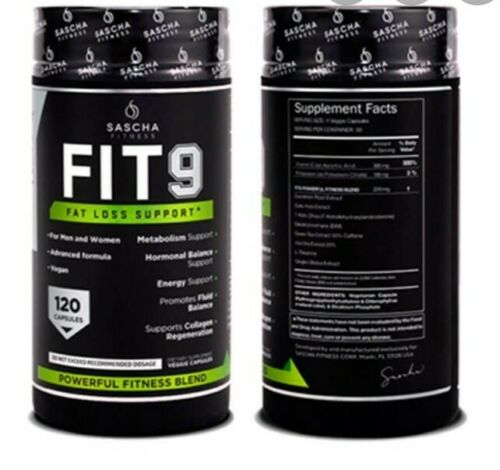 Fit 9 by Sascha Fitness fat loss support ORIGINAL FIT 9 FAT LOSS SUPPORT