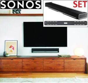 NEW SONOS PLAYBAR WITH WALL MOUNT bpbrmus1bkhb 274768978 SPEAKER SOUNDBAR TV MUSIC SYSTEM HOME THEATER - FACTORY SEALED