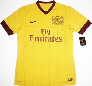 Super Rare 11/12 Arsenal Player Issue Third Football Shirt Soccer Jersey Top