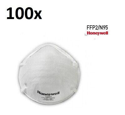 100 x FFP2 Atemschutzmaske Honeywell H801, Mundschutz, Gesichtsmaske