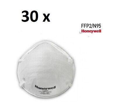 30 x FFP2 Atemschutzmaske Honeywell H801, Mundschutz, Gesichtsmaske