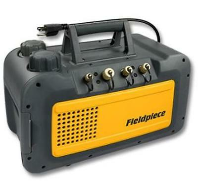 Fieldpiece Vp55 5cfm Vacuum Pump With Run Quick Oil Change System 115v