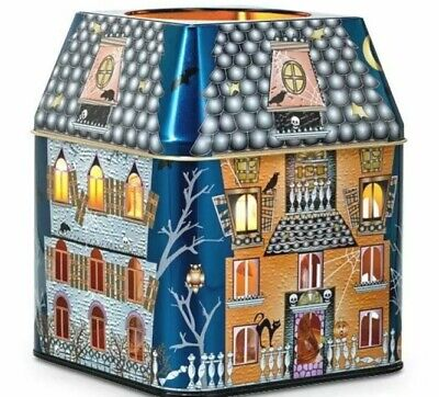 PARTYLITE SPOOKY HOUSE 3 WICK CANDLE HOLDER BNIB RETIRED HOLDER! $15 RETAIL