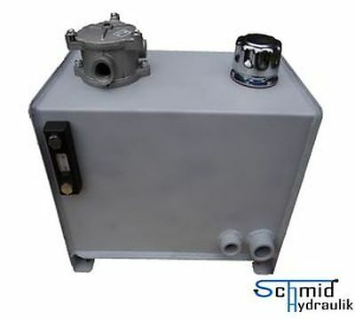 Hydrauliktank 25 Liter Hydrauliköltank