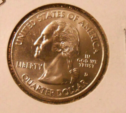 2009 D: U.S. Virgin Is. Territorial Quarter BU from mint roll (1 coin)