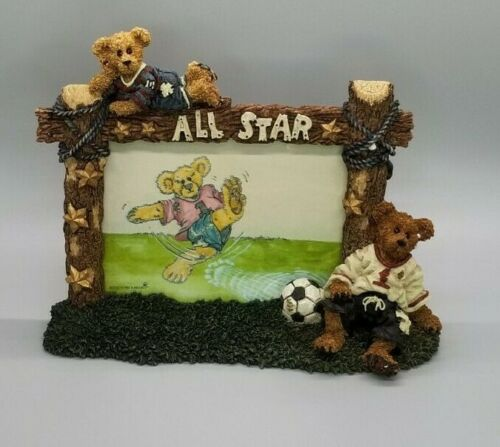 Boyds Bears Rocky All Star Picture Frame, Used, Great Condition
