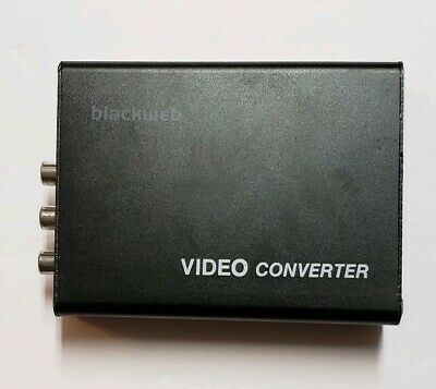 Blackweb BWA17AV014 Composite/S-Video to HDMI converter upscaler