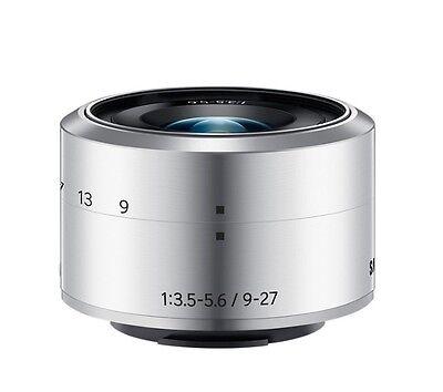 SAMSUNG NX 9-27mm f/3.5-5.6 ED OIS Lens silver for NX Mini REFURBISHED