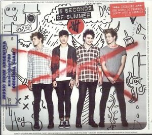 5-SECONDS-OF-SUMMER-4-BONUS-TRACKS-DELUXE-EDITION-SEALED-CD-NEW-2014-5SOS