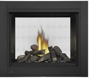 Brand New Double Sided Fireplace