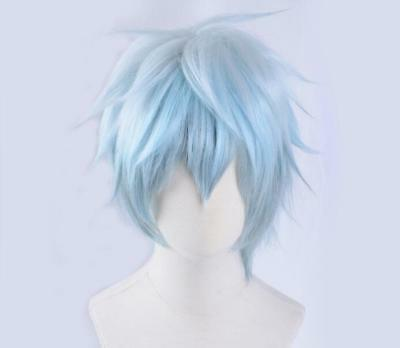 SERVAMP Kuro Cosplay Perücke Wig Kurz Short Hell Blau Light Blue v.2
