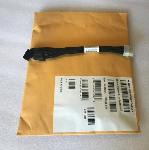 HP 670728-001 HP 687955-001  225W PCIE POWER CABLE KIT 728539-B21