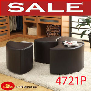 modern ottomans, cocktail site tables, benches, stools, 4721,