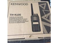 Kenwood th-k40e transceiver amateur radio