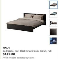 Malm bed in great condition