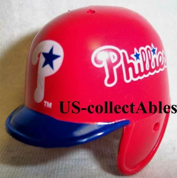 MLB Philadelphia Phillies Baseball Helmet Keychain NEW Sport