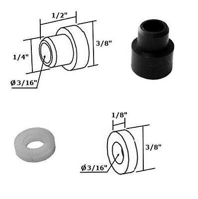 Shower Door Nylon Bushing and Washer Kit for Framed Pivot Shower - Shower Frame Kit