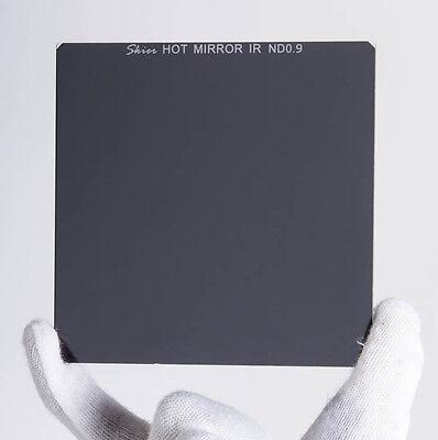 """Skier Neutral Density 4x4"""" Hot Mirror IR ND 0.9 Camera Lens Filter"""