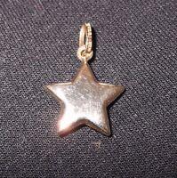 Pendatif etoile Or 10 K ~ Gold star pendant 10 K
