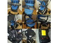 Baby Boy Chico Urban Travel System, Everything You Need!! IMMACULATE