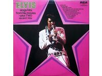 """""""Elvis Sings Hits From His Movies - Plus Two Recent Hits"""", 1972 VINYL LP"""
