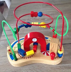 Quality Wood and Metal Traffic Bean Maze Toy London Ontario image 1