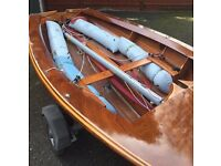 Merlin Rocket Proctor IXb vintage sailing dinghy
