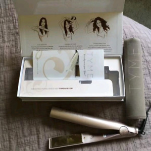 Tyme Iron Pro HairStraightener In Basically New Mint Condition!