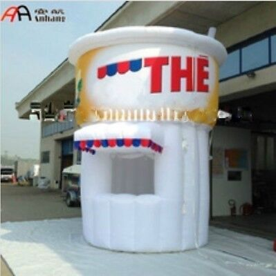 13ft Tall Commercial Inflatable Soda Pop Concession Stand Event Drink Tent Booth