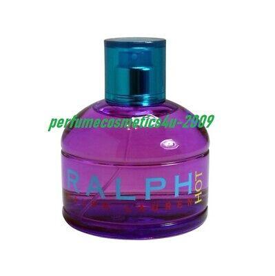 RALPH LAUREN HOT PERFUME FOR WOMEN 3.4 OZ / 100 ML EAU DE TOILETTE SPRAY NEW