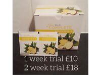 Juice plus Weekly trials