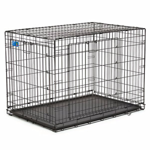 **Large Folding Wire Dog Crate**