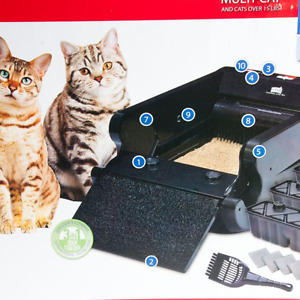 natural miracle automatic cat litter box
