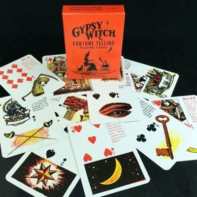 SEALED Deck GYPSY Witch FORTUNE TELLING Cards USA SELLER Oracle Esoteric Tarot Gypsy Witch Deck