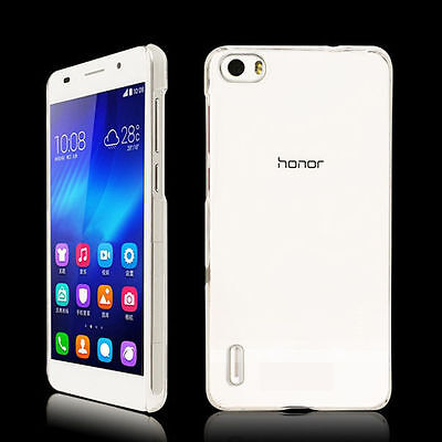 Crystal Clear Transparent Hard Case Skin Cover for Huawei
