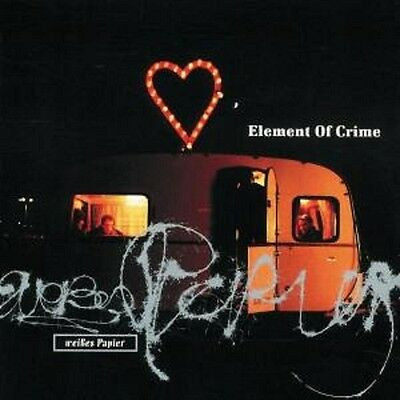 ELEMENT OF CRIME / WEISSES PAPIER * NEW CD * NEU *