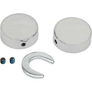 Drag Specialties - 16-0206 - Swingarm Pivot Bolt Covers 1303-0025