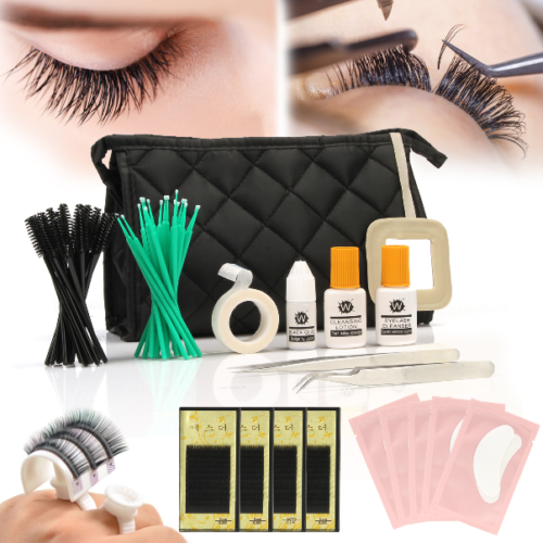 US ❤ Pro 20 in 1 Pack Starter Eyelash Extension Kit Indivi