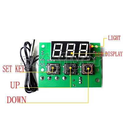 Pid Intelligent Temperature Controller Precision Board Module Sensor Ntc Dc12v
