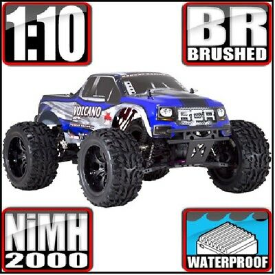 Redcat Racing Volcano EPX 1:10 Scale Electric 19T Monster Truck, Blue