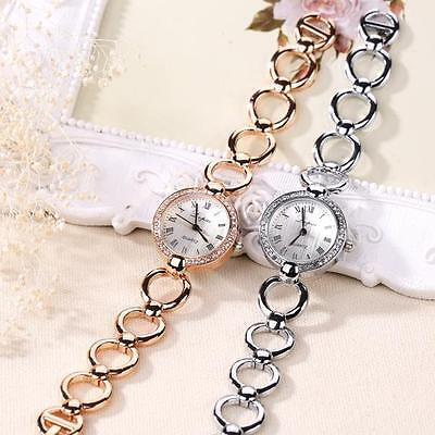 Luxury Women's Bling Watch Dress Bracelet Rhinestone Watch Girl Wrist Watch Gift