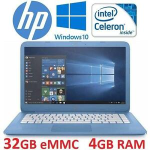 "NEW OB HP STREAM NOTEBOOK PC 14"" LAPTOP COMPUTER - ELECTRONICS - NEW OPEN BOX PRODUCT 99694849"