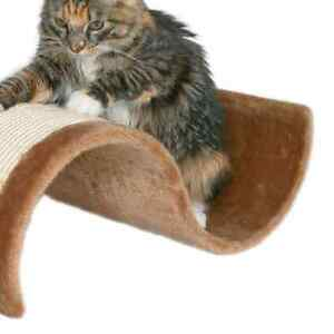 Curved cat scratcher ....like new...cat not included