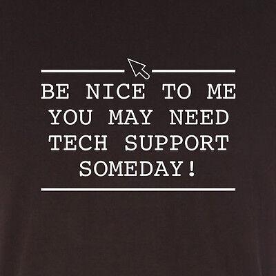 FUNNY TECH SUPPORT SLOGAN MENS T SHIRT NOVELTY GIFT IDEA COMPUTER GEEK SMART Mens Tech Support