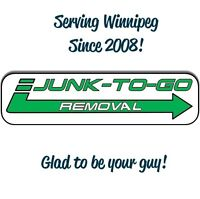 Junk-To-Go Removal - Glad to be your guys!!