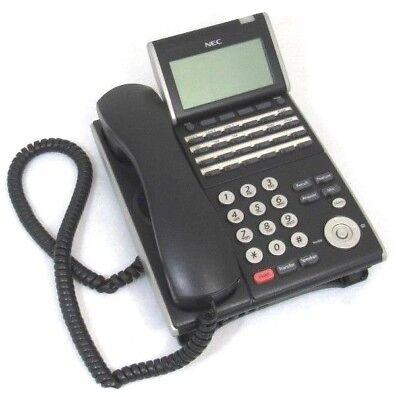 Nec Dt300 Dtl-24d-1 Bk Tel 24-line Business Display Phone Handset Stand 5
